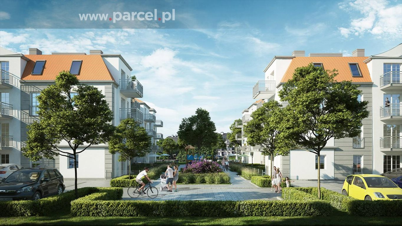 Mieszkanie dwupokojowe na sprzedaż Zalasewo, Radosna  50m2 Foto 1