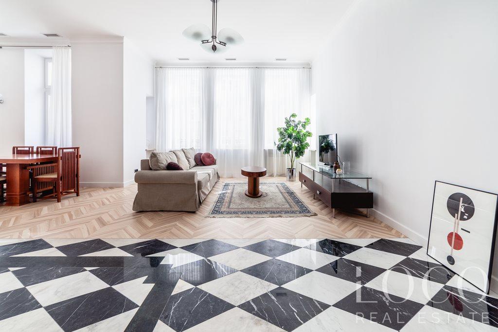 Mieszkanie trzypokojowe na wynajem Warszawa, Śródmieście, Mokotowska  94m2 Foto 3