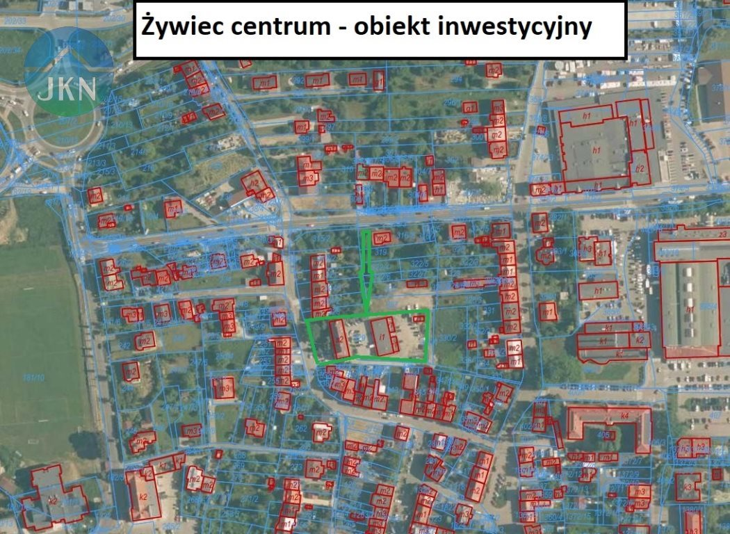 Lokal użytkowy na sprzedaż Żywiec  970m2 Foto 1