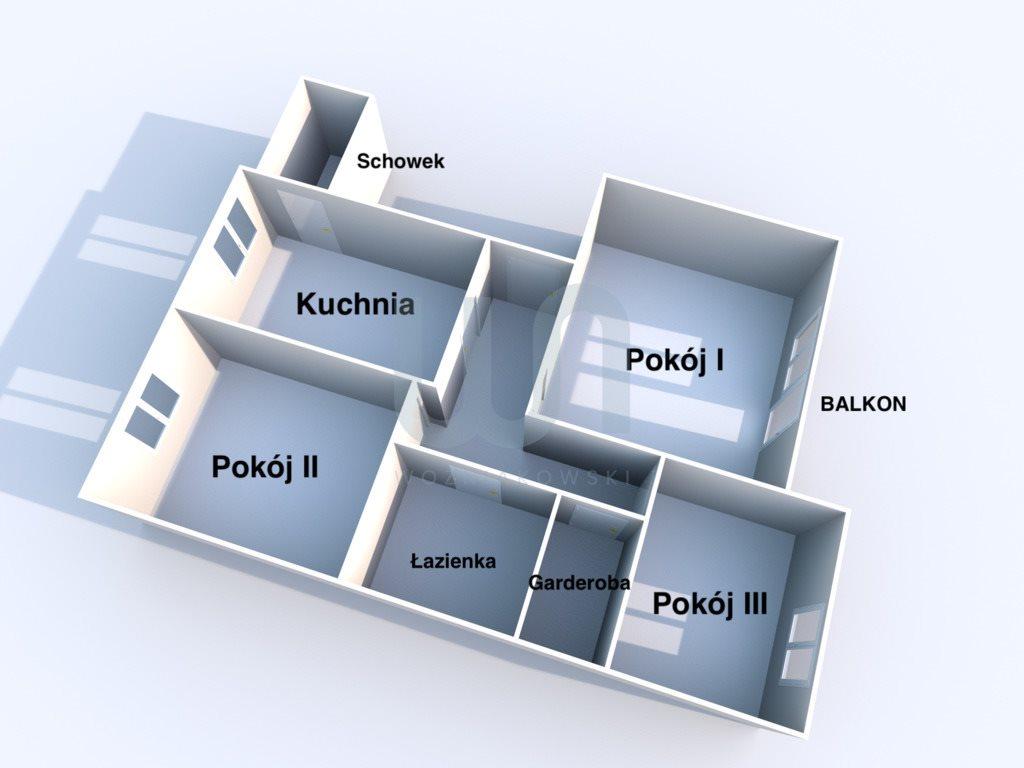 Mieszkanie trzypokojowe na sprzedaż Ząbki, Świerkowa  82m2 Foto 10