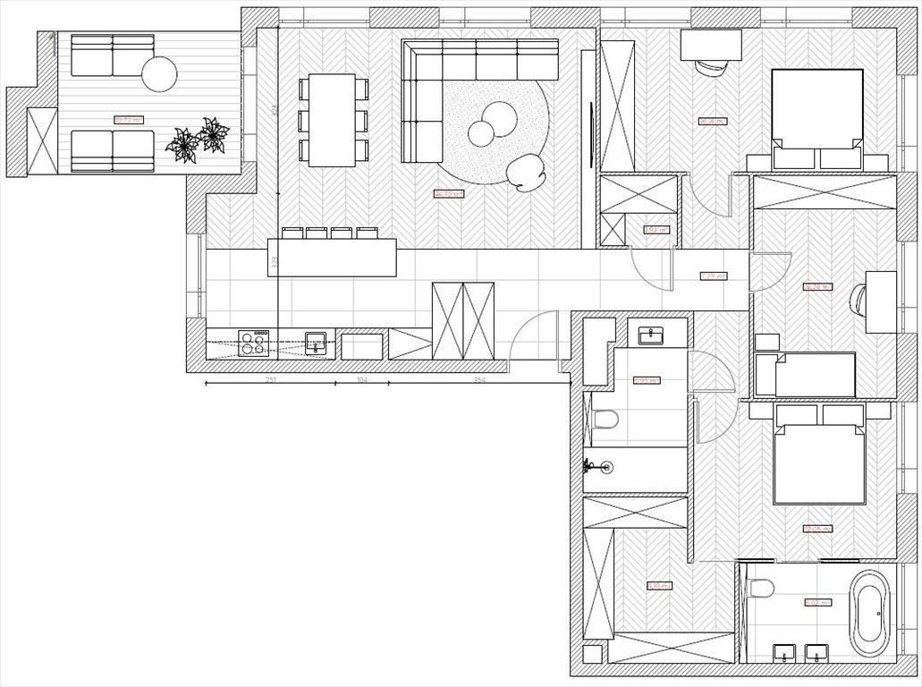 Mieszkanie czteropokojowe  na sprzedaż Warszawa, Śródmieście, Krochmalna  112m2 Foto 14