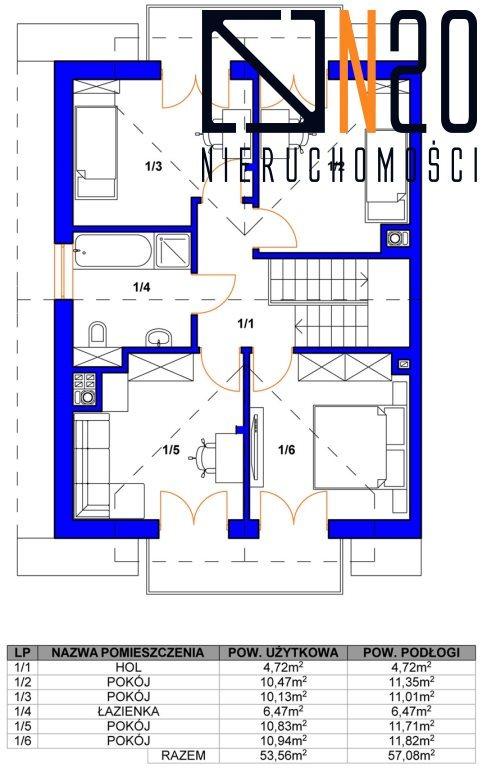 Dom na sprzedaż Zabierzów, Więckowice, Topolowa - okolice  125m2 Foto 6