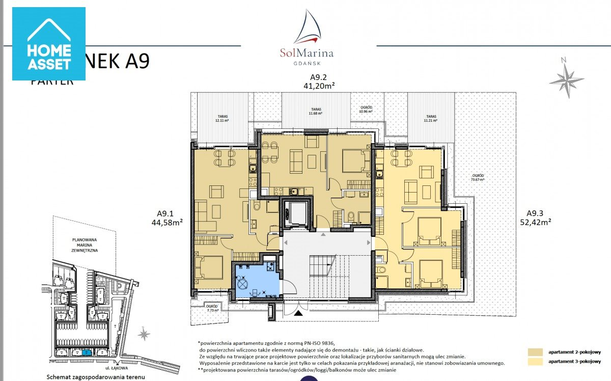 Mieszkanie dwupokojowe na sprzedaż Wiślinka, Łąkowa  41m2 Foto 5