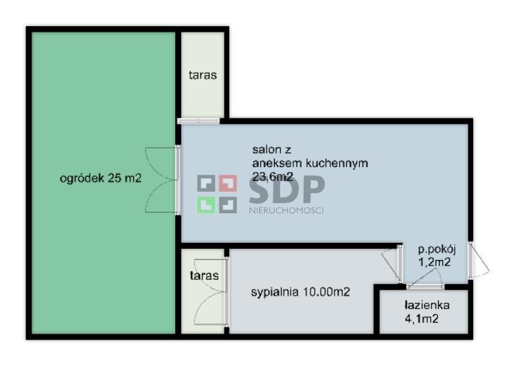 Mieszkanie dwupokojowe na sprzedaż Wrocław, Fabryczna, Żerniki, Lauterbacha Henricha  39m2 Foto 4
