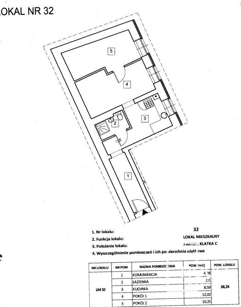 Mieszkanie dwupokojowe na sprzedaż Poznań, Wilda, Jana Umińskiego  38m2 Foto 7