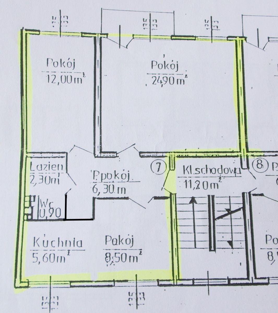Mieszkanie trzypokojowe na sprzedaż Grudziądz  61m2 Foto 3