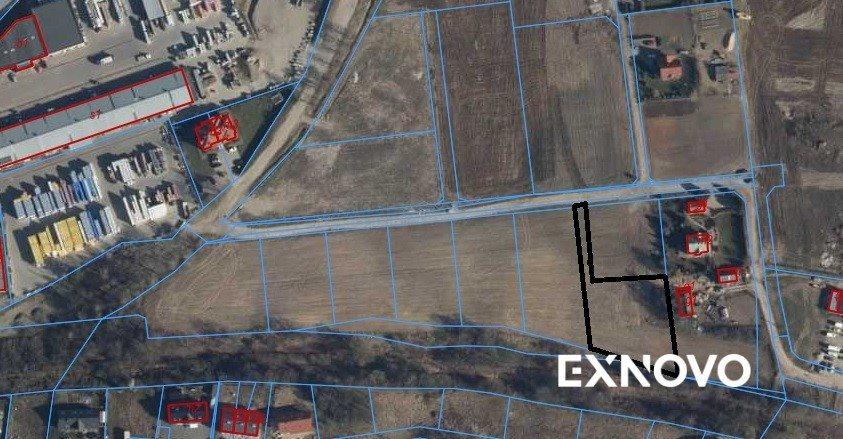 Działka budowlana na sprzedaż Gdańsk, Kokoszki, Dojazdowa  2156m2 Foto 1