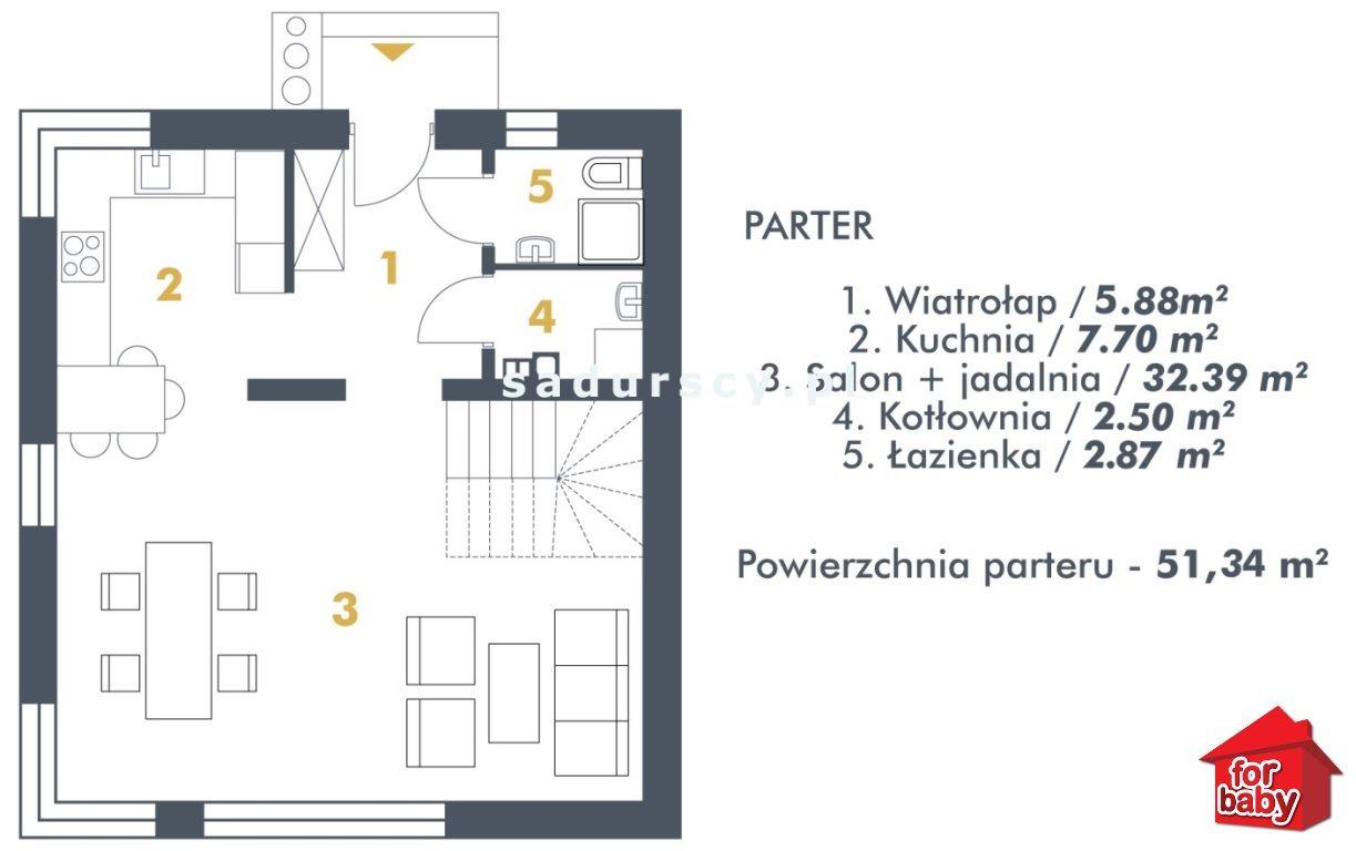 Dom na sprzedaż Zabierzów, Kobylany, Kobylany, Floriana  102m2 Foto 3