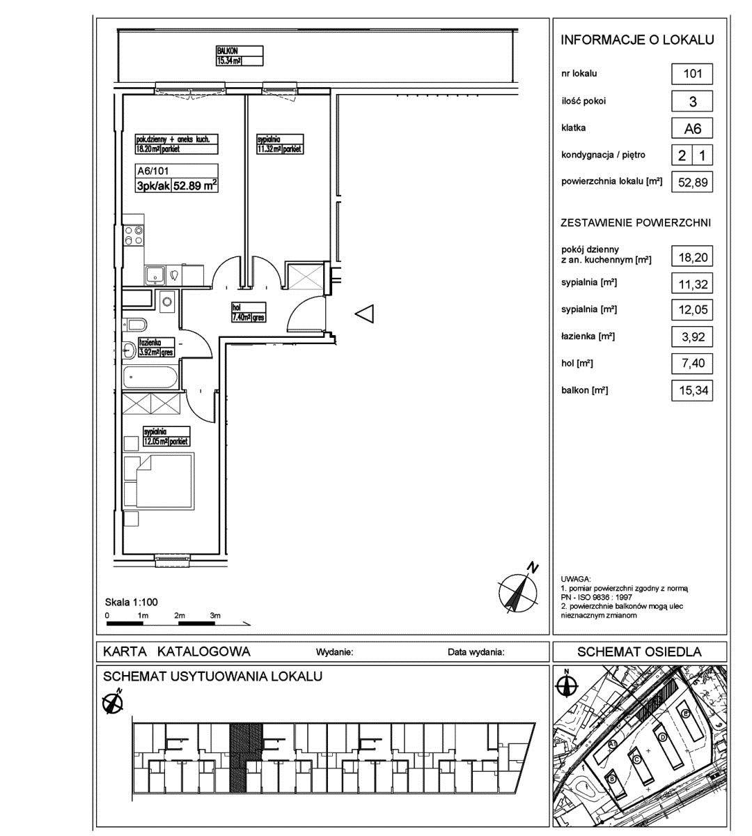 Mieszkanie trzypokojowe na sprzedaż Pruszków, Pruszków  53m2 Foto 1
