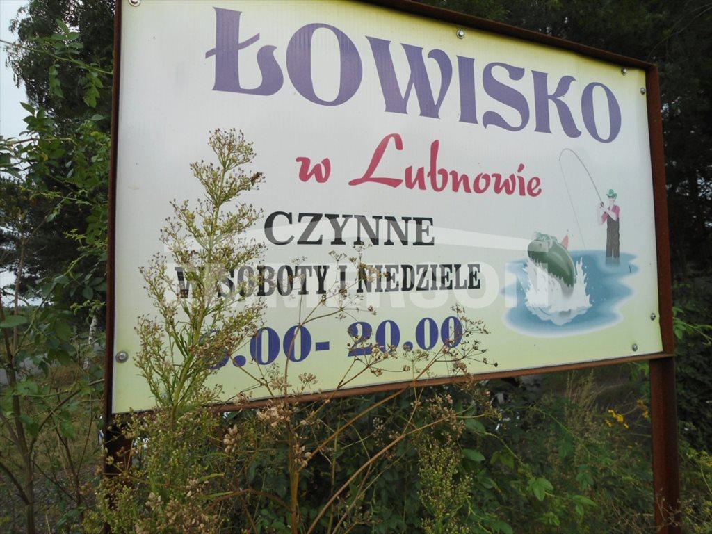 Działka budowlana na sprzedaż Lubnów  1700m2 Foto 11