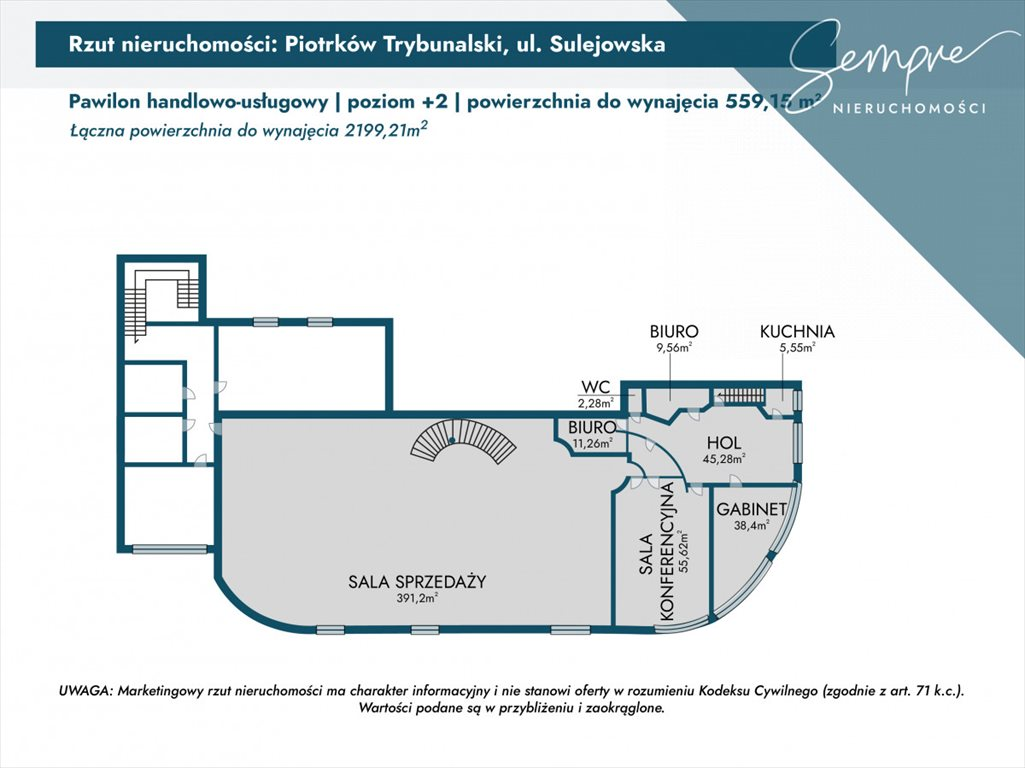 Lokal użytkowy na wynajem Piotrków Trybunalski, Sulejowska  2199m2 Foto 9