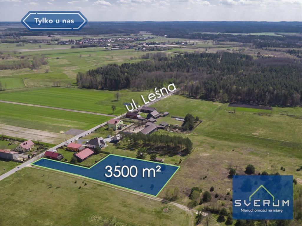 Działka budowlana na sprzedaż Wola Mokrzeska, Leśna  3500m2 Foto 5