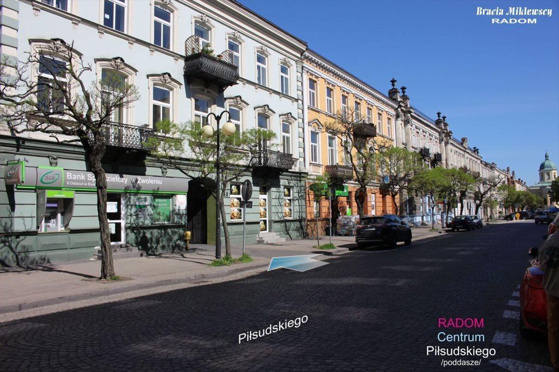 Mieszkanie trzypokojowe na wynajem Radom, Centrum, Piłsudskiego  100m2 Foto 11