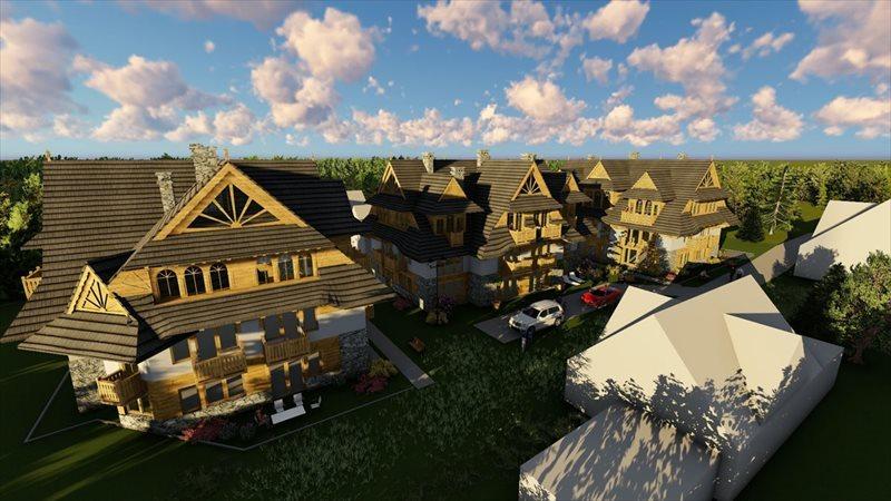 Mieszkanie czteropokojowe  na sprzedaż Zakopane, Strążyska  72m2 Foto 1