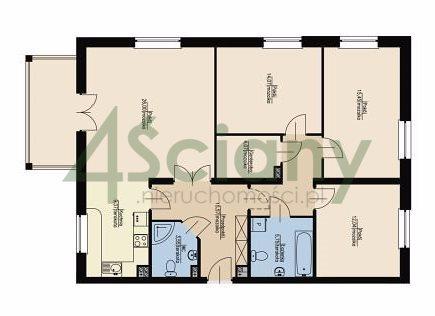 Mieszkanie czteropokojowe  na sprzedaż Otwock, Wczasowa  105m2 Foto 1