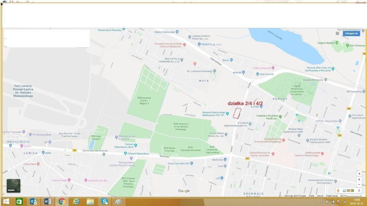 Działka budowlana na sprzedaż Poznań, Jeżyce, Ogrody, korzystan cena, dobra inwestycja  6959m2 Foto 4