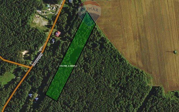 Działka leśna z prawem budowy na sprzedaż Czarnówka  15000m2 Foto 2