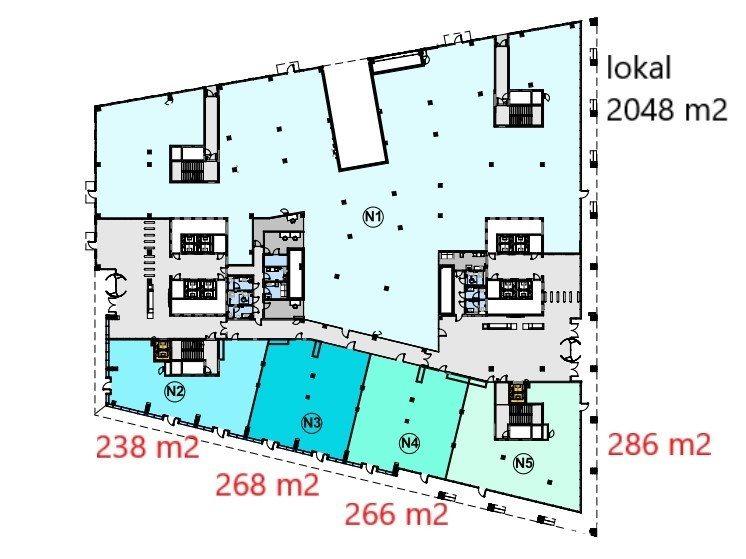Lokal użytkowy na wynajem Kraków, Pawia  2018m2 Foto 3