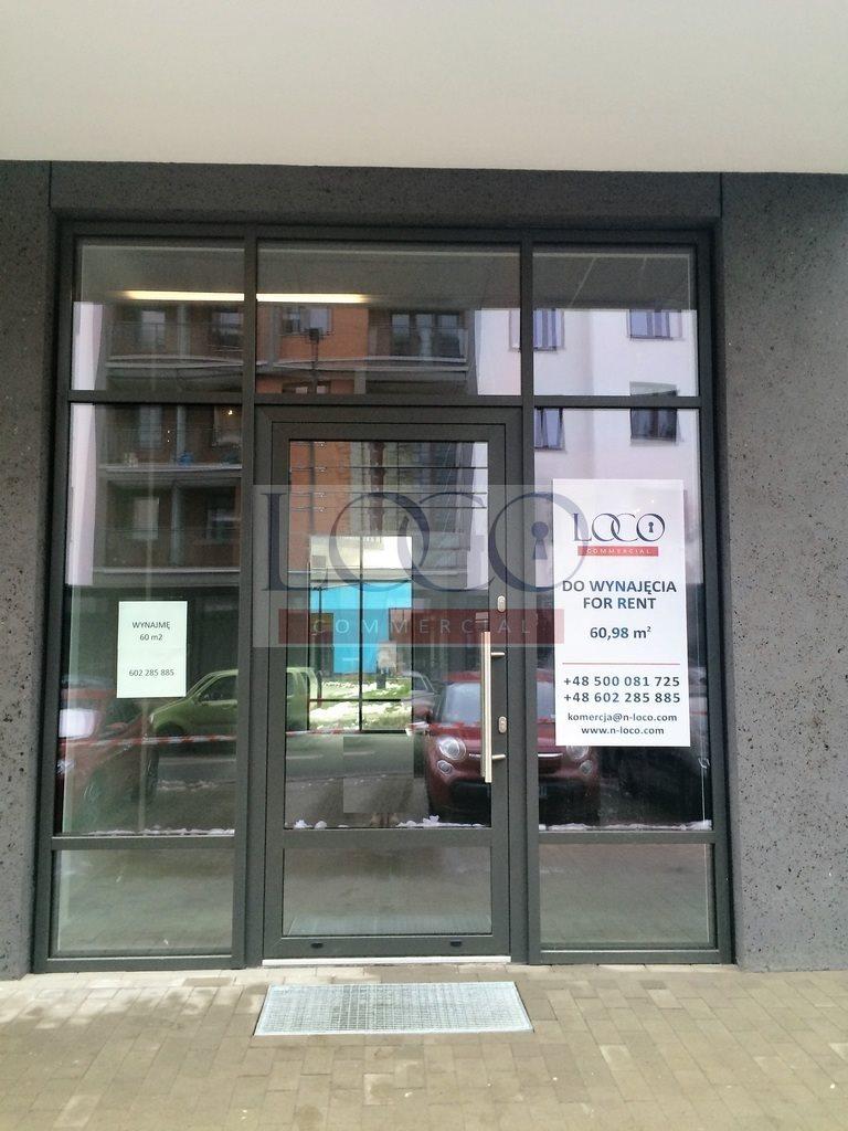 Lokal użytkowy na wynajem Warszawa, Kłobucka  61m2 Foto 1