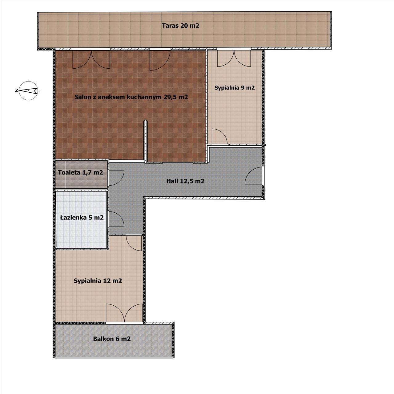 Mieszkanie trzypokojowe na sprzedaż Warszawa, Wola, Młynów, Ostroroga  70m2 Foto 12