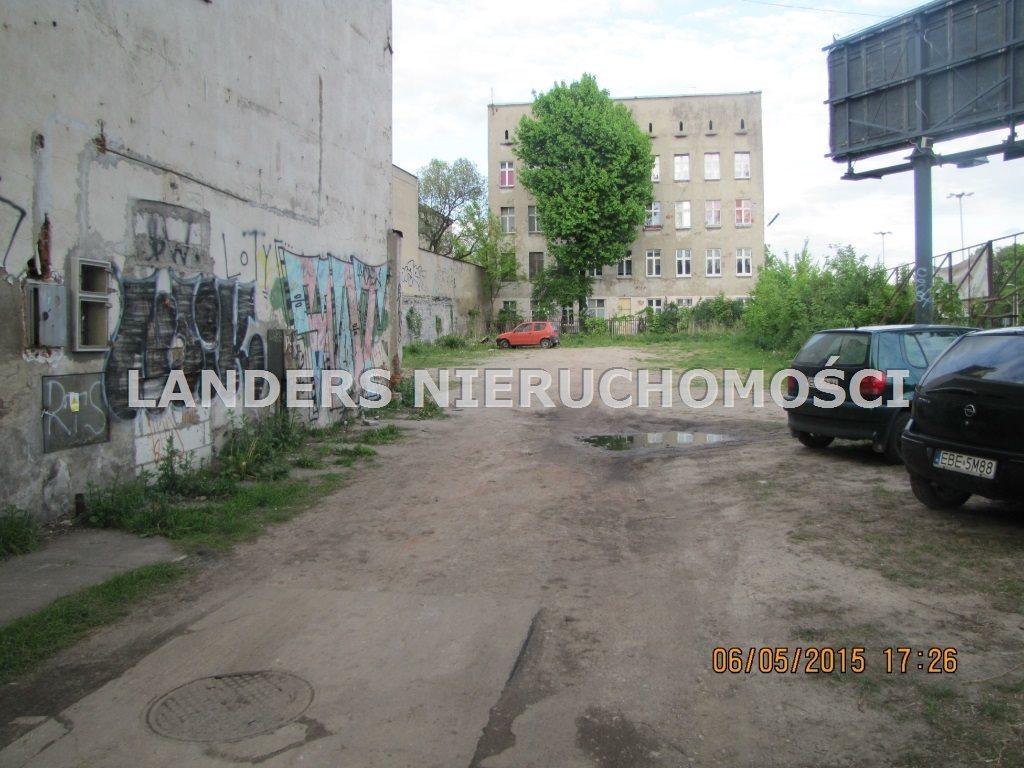 Działka budowlana na sprzedaż Łódź, Dowborczyków  1356m2 Foto 5