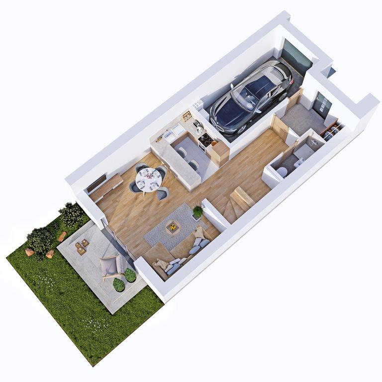 Dom na sprzedaż Rzeszów, Porąbki  119m2 Foto 3