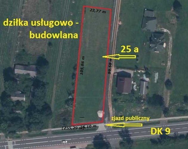 Działka budowlana pod dzierżawę Kupno  2500m2 Foto 3