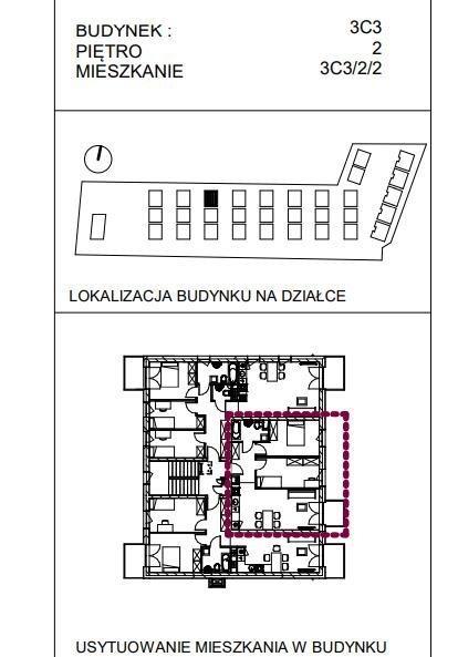Mieszkanie trzypokojowe na sprzedaż Wrocław, Wrocław-Fabryczna, Muchobór Wielki, Stanisława Kunickiego  60m2 Foto 6