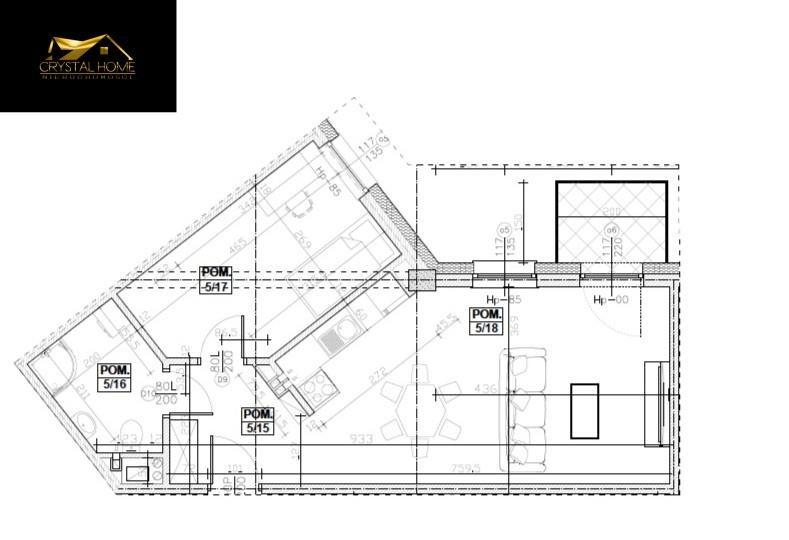 Mieszkanie trzypokojowe na sprzedaż Świdnica  45m2 Foto 5