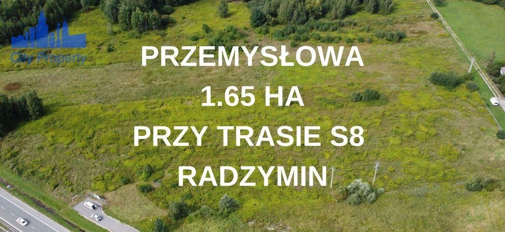 Działka przemysłowo-handlowa na sprzedaż Radzymin  16500m2 Foto 1