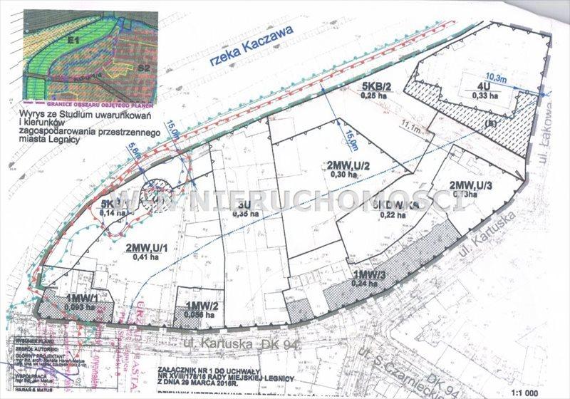 Działka komercyjna na sprzedaż Legnica, Kartuzy  5013m2 Foto 3