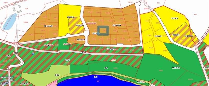 Działka budowlana na sprzedaż Koleczkowo, Jezioro, Tereny rekreacyjne, Ulica osiedlowa, Polna  1100m2 Foto 2