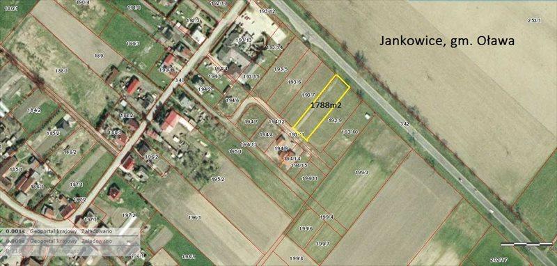 Działka budowlana na sprzedaż Jankowice  1788m2 Foto 1