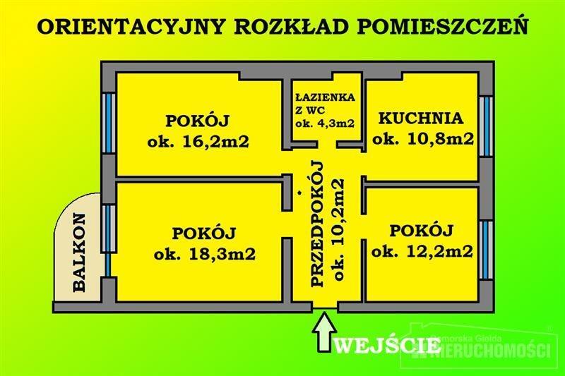Mieszkanie trzypokojowe na sprzedaż Szczecinek, Jezioro, Kościół, Park, Plac zabaw, Przedszkole, P, Armii Krajowej  72m2 Foto 11