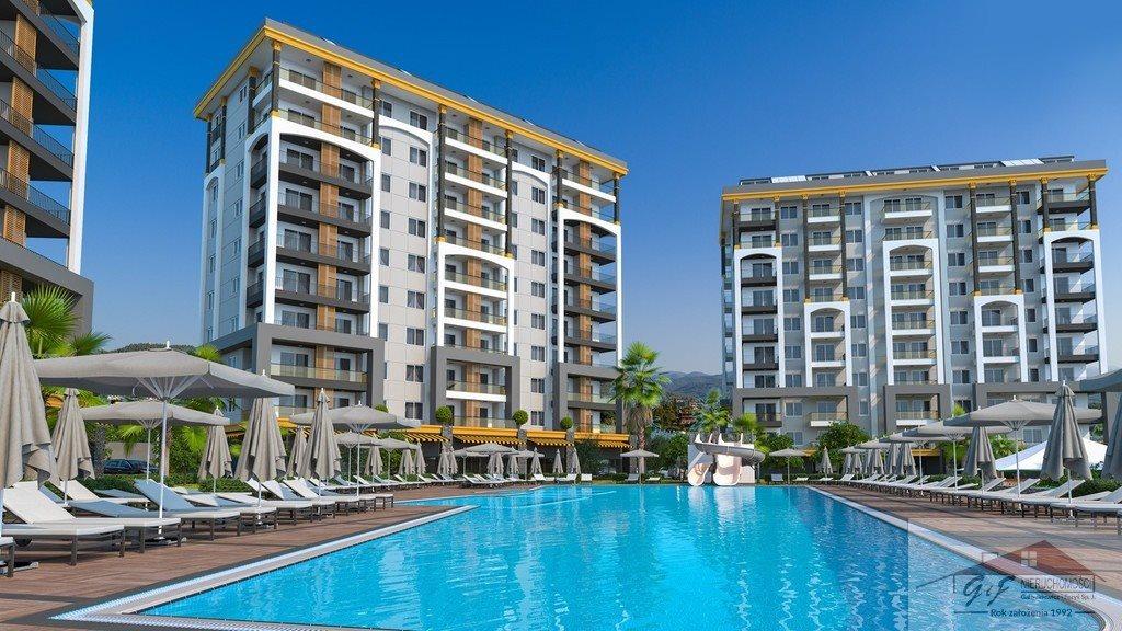 Mieszkanie dwupokojowe na sprzedaż Turcja, Alanya, Avsallar, Alanya, Avsallar  53m2 Foto 3