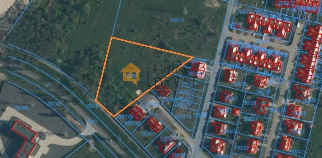 Działka inwestycyjna na sprzedaż Lubin, Małomice  5913m2 Foto 1
