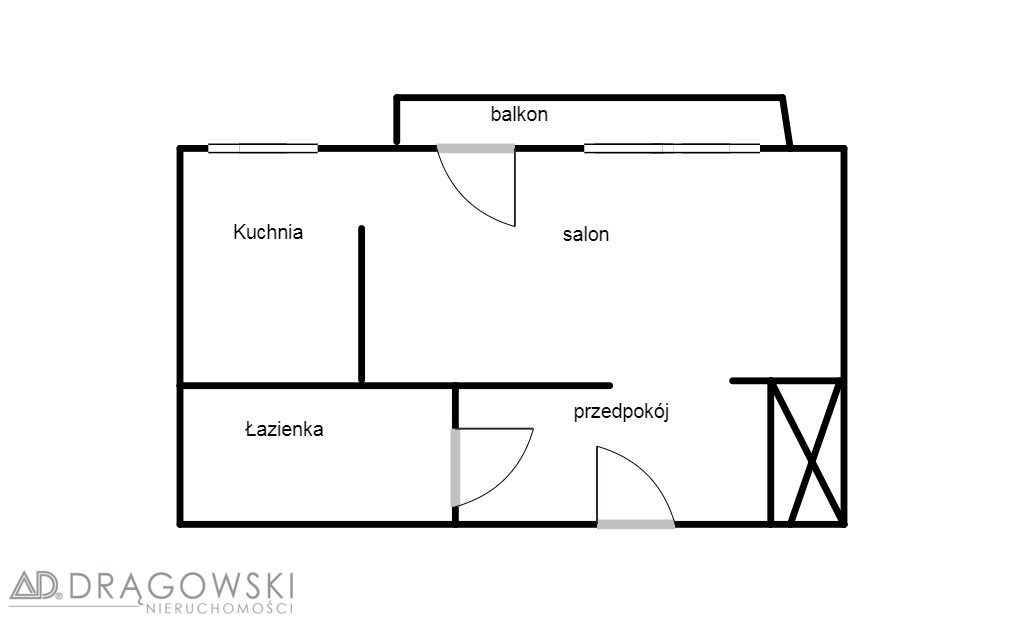 Kawalerka na sprzedaż Warszawa, Mokotów, Dolny Mokotów, Bluszczańska  34m2 Foto 6