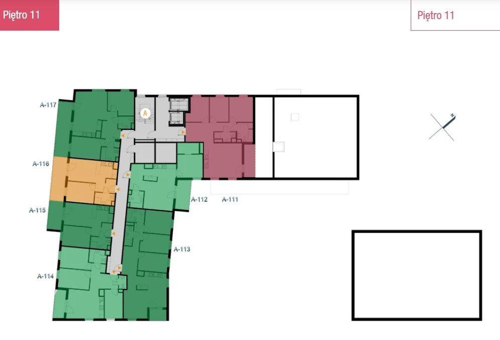 Mieszkanie dwupokojowe na sprzedaż Warszawa, Białołęka, Tarchomin, Józefa Mehoffera  50m2 Foto 7