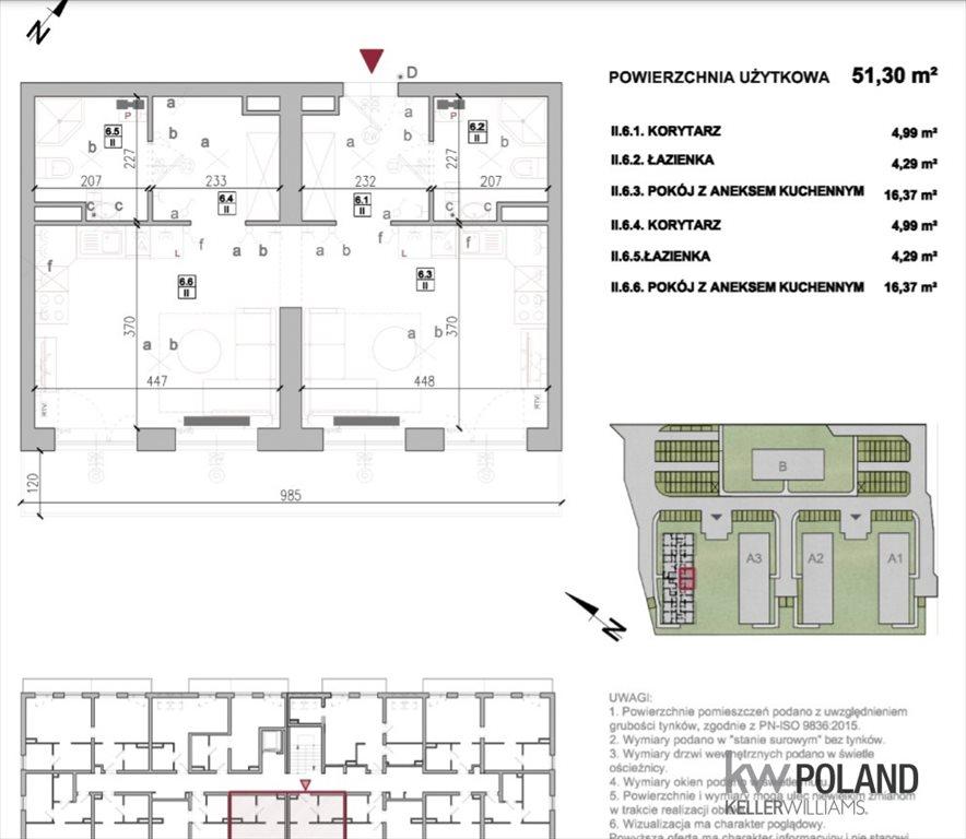 Mieszkanie dwupokojowe na sprzedaż Kruszewnia, Średzka  51m2 Foto 1