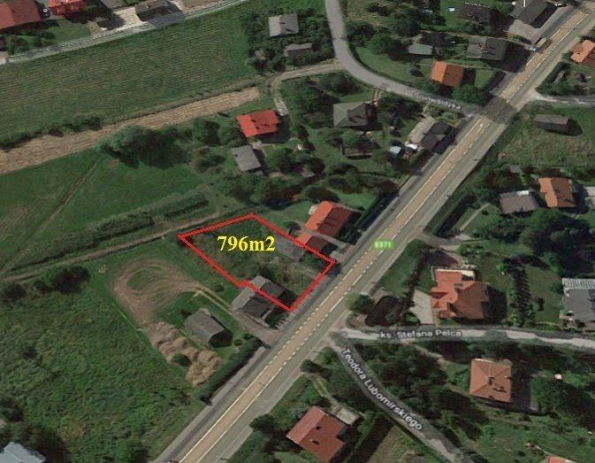 Działka budowlana na sprzedaż Boguchwała, Doktora Tkaczowa  796m2 Foto 1