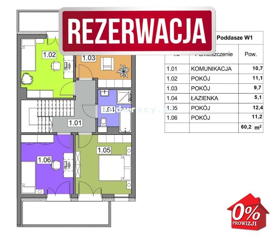 Dom na sprzedaż Kraków, Swoszowice, Soboniowice, Drużbackiej - okolice  121m2 Foto 4