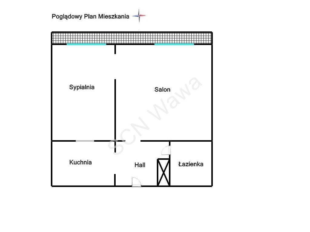 Mieszkanie dwupokojowe na sprzedaż Warszawa, Wola, Monte Cassino  38m2 Foto 11