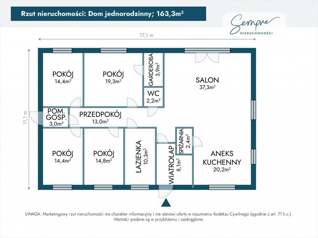 Dom na sprzedaż Łódź  163m2 Foto 4