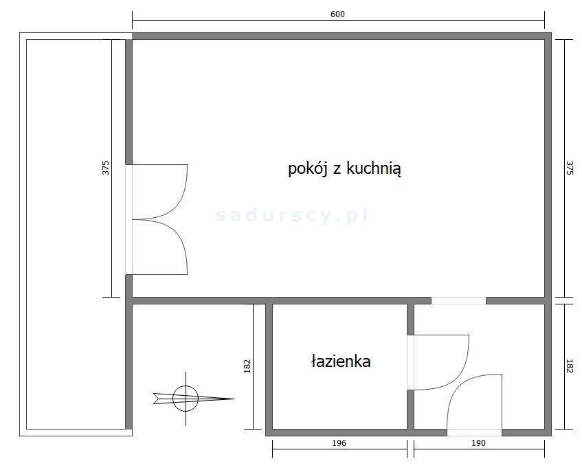 Kawalerka na sprzedaż Kraków, Prądnik Biały, Górka Narodowa, Kuźnicy Kołłątajowskiej  30m2 Foto 4