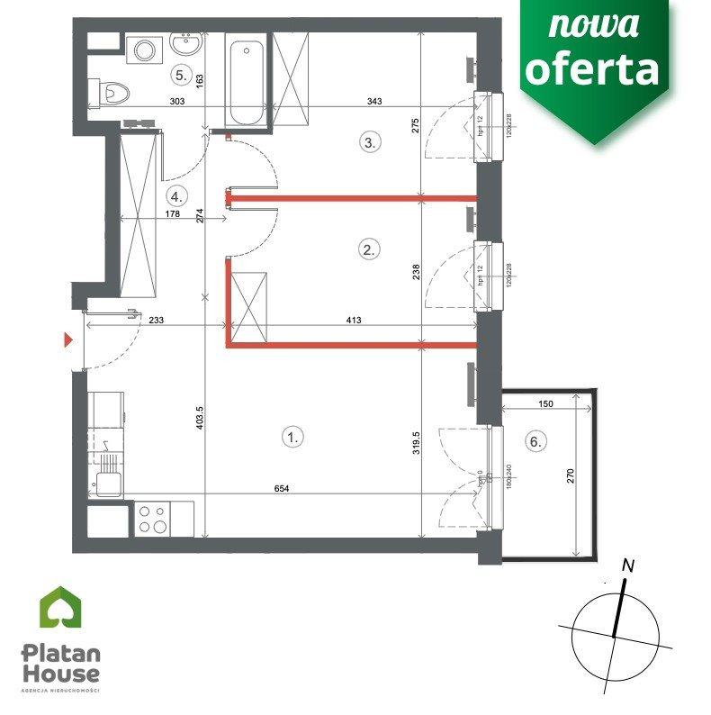 Mieszkanie trzypokojowe na sprzedaż Warszawa, Włochy, Równoległa  52m2 Foto 5