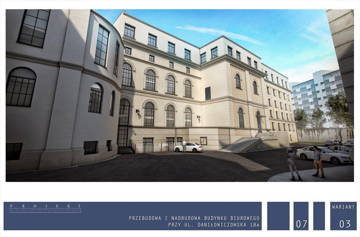 Działka inwestycyjna na sprzedaż Warszawa, Śródmieście, Daniłowiczowska 18A  838m2 Foto 9