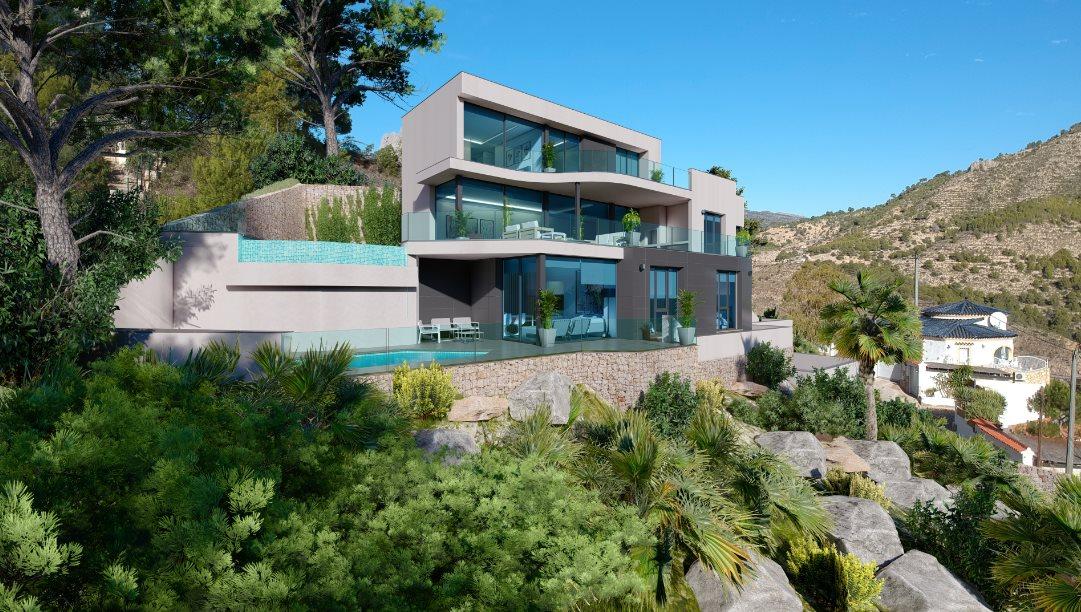 Luksusowy dom na sprzedaż Hiszpania, Calpe, Maryvilla, 64J  1000m2 Foto 1