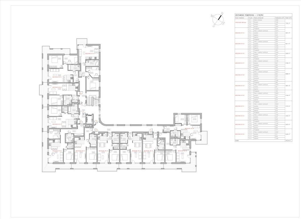 Mieszkanie dwupokojowe na sprzedaż Bielsko-Biała  47m2 Foto 9