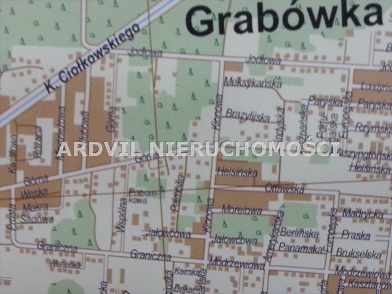 Działka budowlana na sprzedaż Grabówka, Grabówka, Ciołkowskiego  1527m2 Foto 1