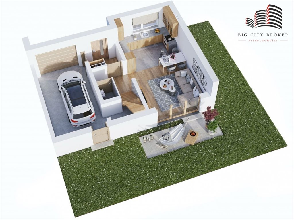Dom na sprzedaż Głusk  108m2 Foto 3